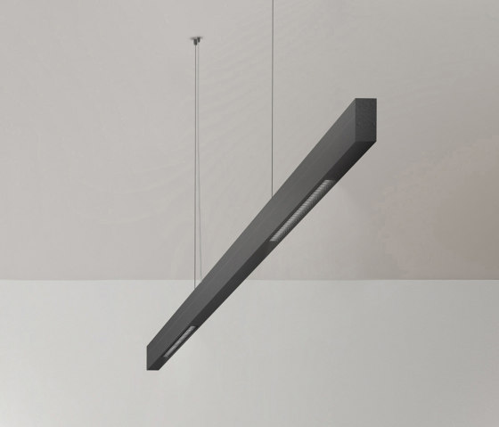 Paladio Lens by Sattler   Suspended lights
