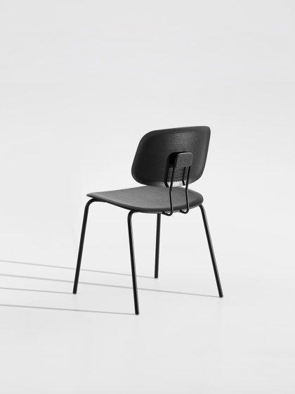 Okito Ply Dining Wooden seat by Zeitraum | Chairs