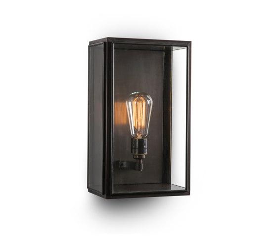 Lantern | Birch Wall Light - Medium - Bronze & Clear Glass by J. Adams & Co | Wall lights