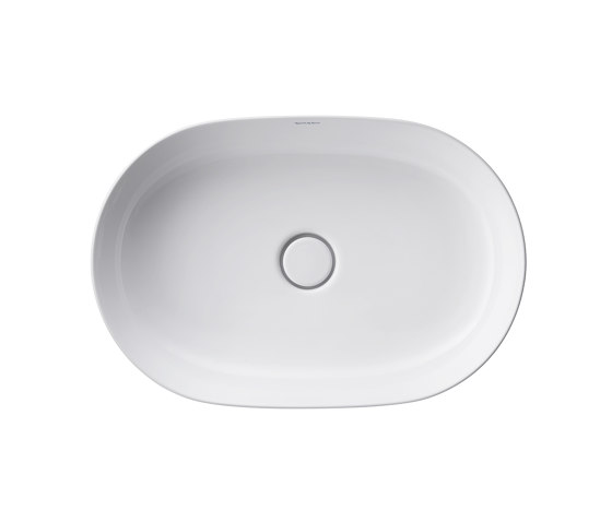 Luv washbowl grinded by DURAVIT