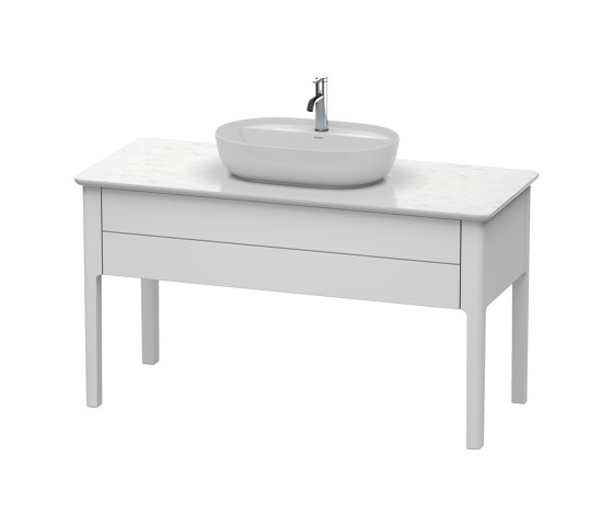 Luv Vanity unit for console floor-standing by DURAVIT | Wash basins