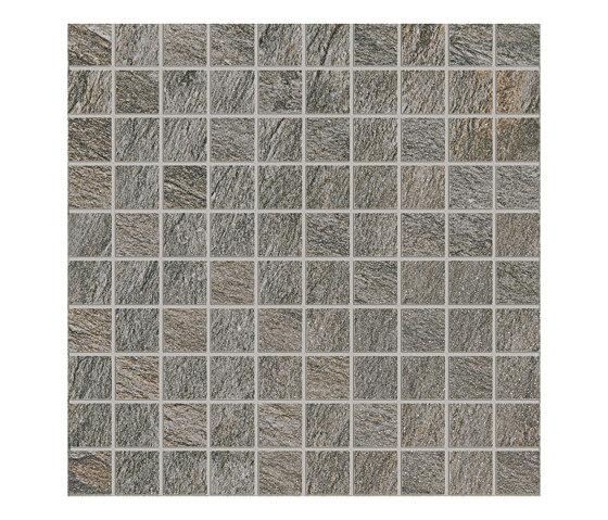 Anthology Stone Mosaico Dark Grey by EMILGROUP | Ceramic mosaics