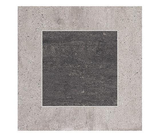 On Square Decor Cemento/Lavagna by EMILGROUP   Ceramic tiles
