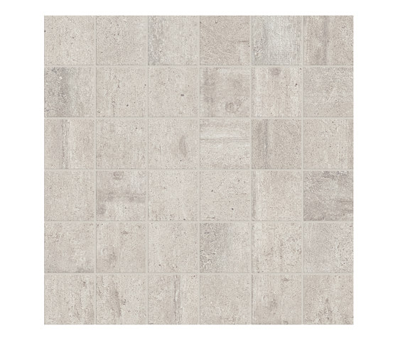 Re-Use Mosaico Fango White by EMILGROUP | Ceramic mosaics