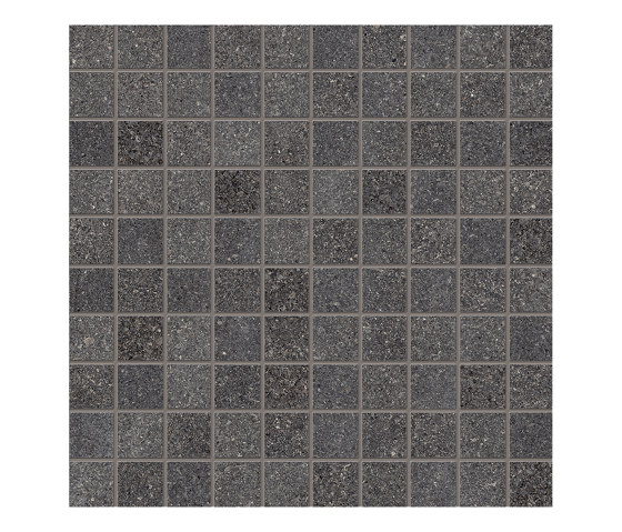 Dotcom Mosaico 3x3 Dark by EMILGROUP | Ceramic mosaics