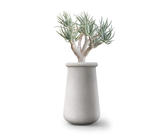 Soma L All Stone by Indigenus | Plant pots