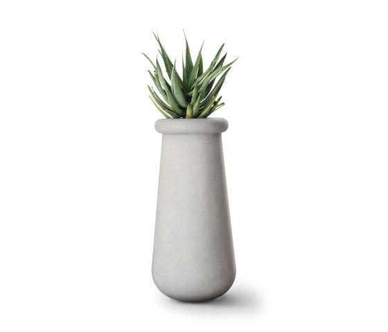 Soma Slim All Stone by Indigenus | Plant pots