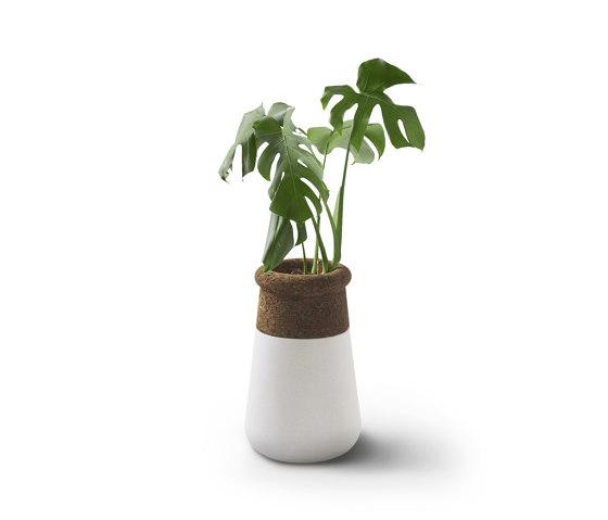 Soma Table Top L Mixed Materials by Indigenus   Plant pots