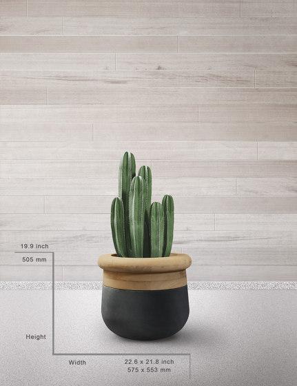 Soma XS Mixed Materials by Indigenus | Plant pots