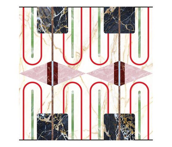 Chimera | Decoro empatia bianco by FLORIM | Ceramic tiles
