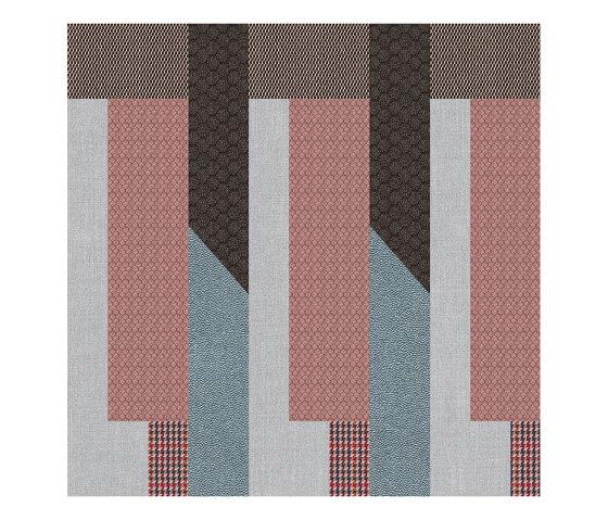 Chimera | Decoro ritmo azzurro a by FLORIM | Ceramic tiles