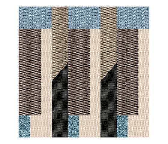Chimera | Decoro ritmo beige b by FLORIM | Ceramic tiles