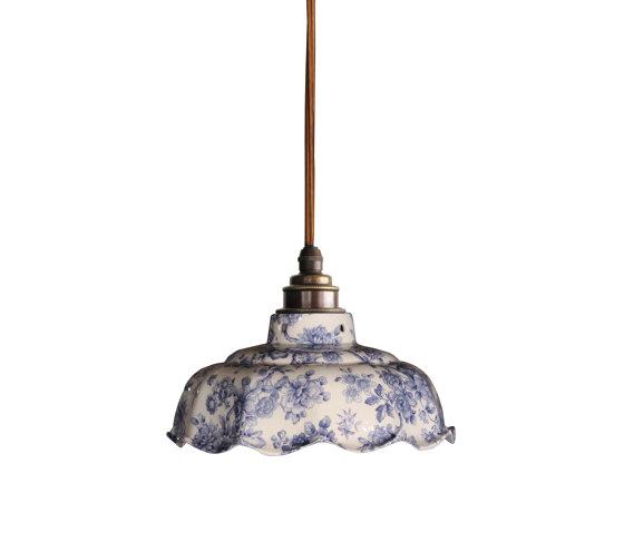 Avalon Pendant Blue Imari by Lyngard | Suspended lights