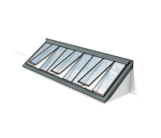 Wall-mounted Longlight 5-45° by Velux Commercial | Window types