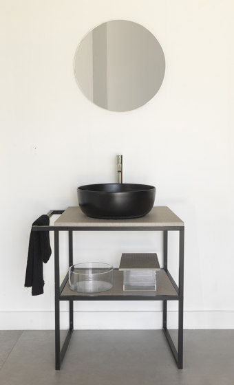 Frame 2.0 by Scarabeo Ceramiche | Vanity units
