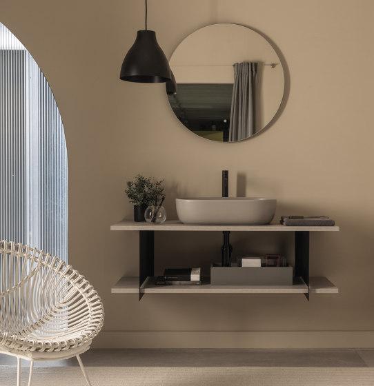 Slide by Scarabeo Ceramiche | Vanity units
