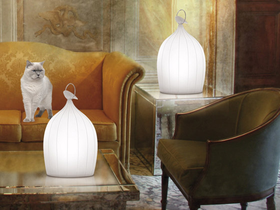 Smoon Cage | Porcelain by BEAU&BIEN | Table lights