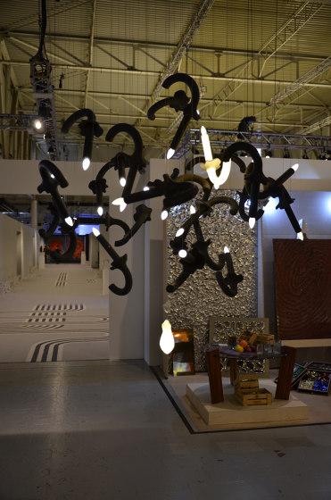 Wersailles | Deconstructivism by BEAU&BIEN | Suspended lights