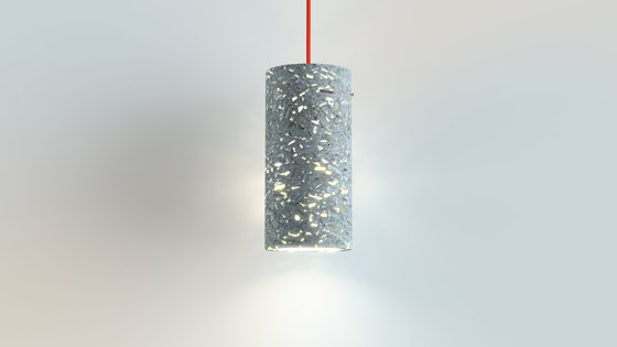 Translucent | coreTube by BETOLUX concrete light | Suspended lights
