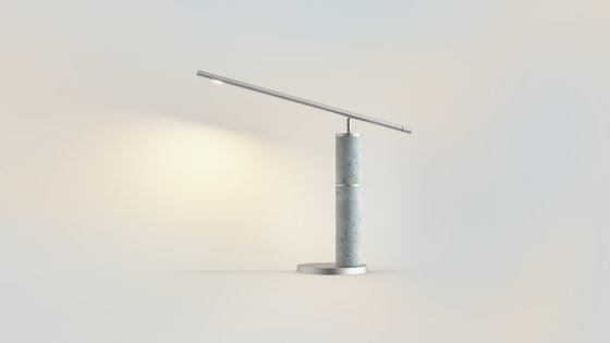 Pure   column by BETOLUX concrete light   Table lights