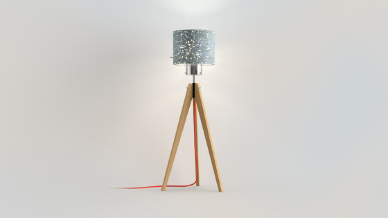 Translucent | triPod by BETOLUX concrete light | Free-standing lights