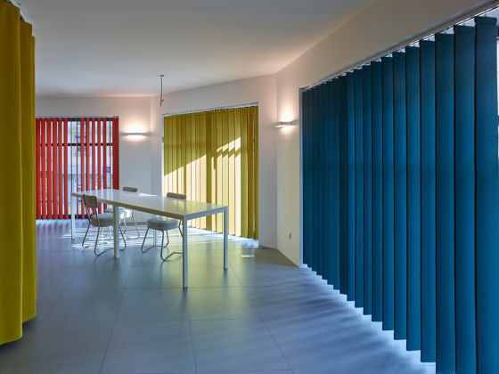 Acoustic blinds by Texaa® | Hand operated systems