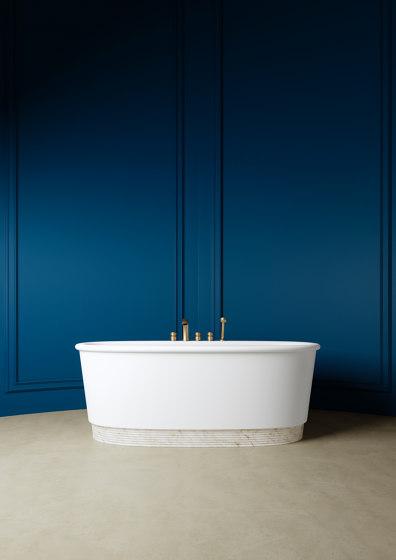 Holiday Bathtub in White Tec Plus by Devon&Devon | Bathtubs