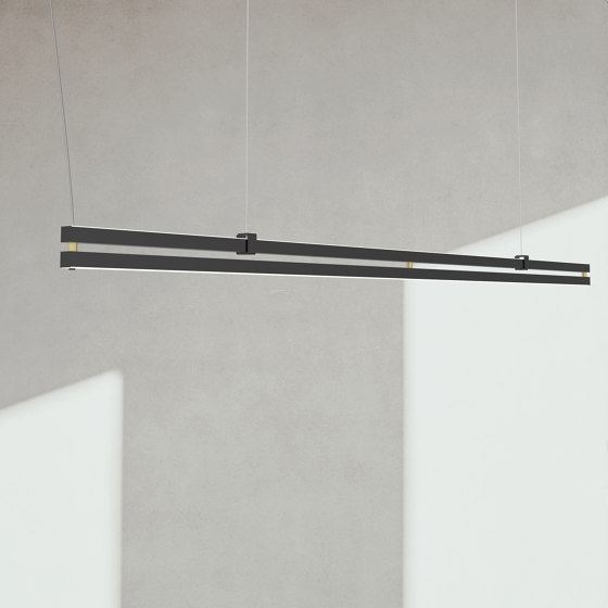 Duplo S1980 by ANDCOSTA   Suspended lights