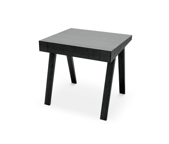 4.9 Writing Desk, 1 drawer, black by EMKO | Desks
