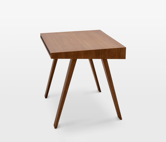 4.9 Writing Desk, 1 drawer, brown by EMKO | Desks