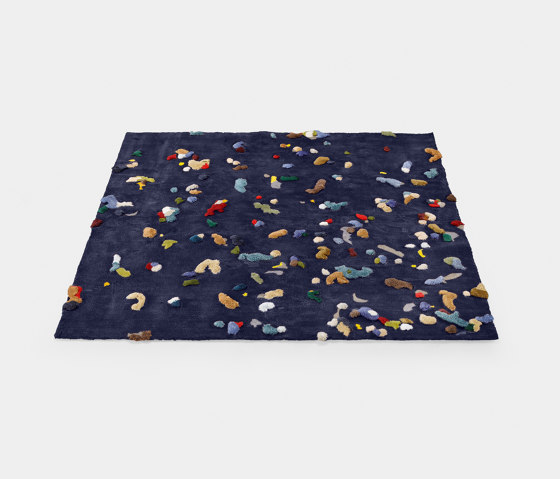 Chaos rug, blue by EMKO | Rugs
