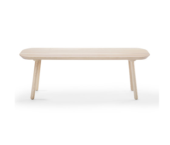Naïve bench, 140 cm, ash by EMKO | Benches