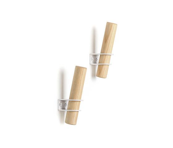 Torch hooks, white by EMKO | Single hooks