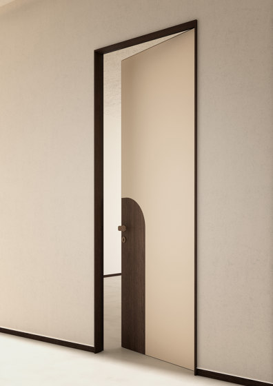 Alba | Infinito Hinged Door | Designed by Fabio Fantolino by Linvisibile | Internal doors