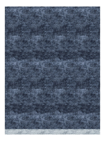Color Block | Deep Blue by Tapis Rouge | Rugs