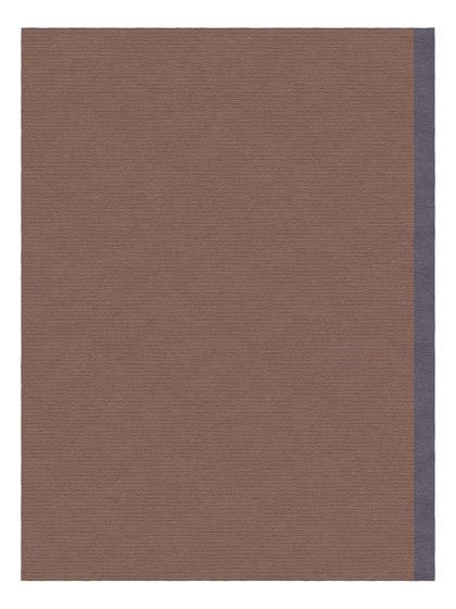 Color Block   Breton Purple by Tapis Rouge   Rugs