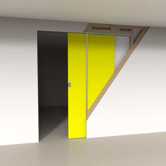 Invisiframe® SD by ARLU | Internal doors