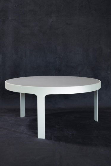 mary's design mood   Las Vegas Dining Table - marble/alluminium by MARY&   Dining tables