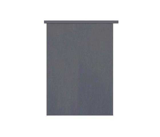 Basic | 12er Aufputz Briefkastenanlage Design BASIC 385 A 220 - RAL 7016 anthrazitgrau by Briefkasten Manufaktur | Mailboxes
