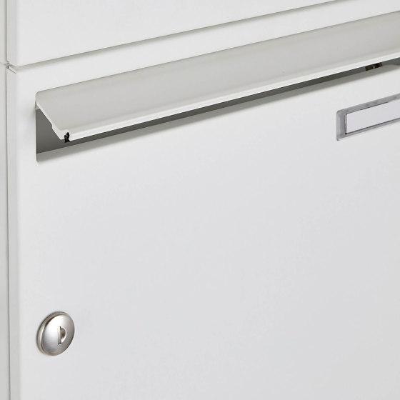 Basic | 16er 4x4 Aufputz Briefkastenanlage Design BASIC 382A AP - RAL 9016 verkehrsweiß 100mm Tiefe by Briefkasten Manufaktur | Mailboxes