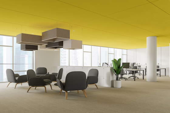 Acoustic Panels, Vertical by Koncept | Sound absorbing objects