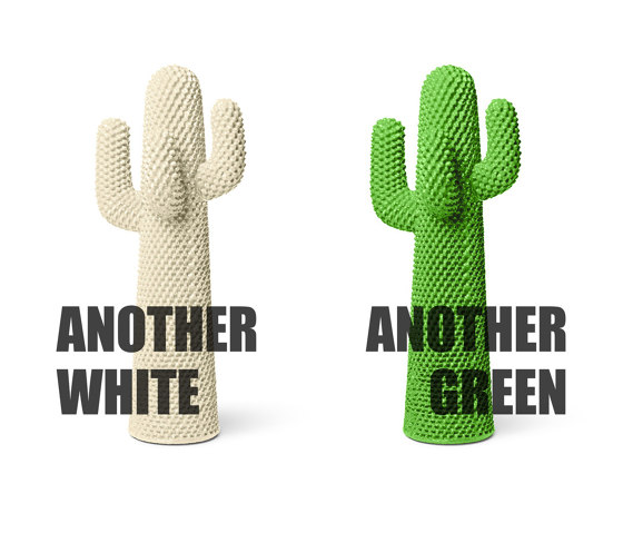 Cactus   Another White di Gufram   Appendiabiti