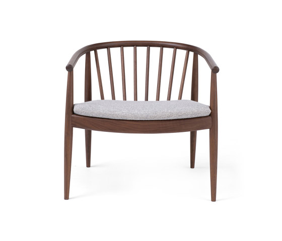 Reprise | Chair Upholstered | Walnut by L.Ercolani | Armchairs