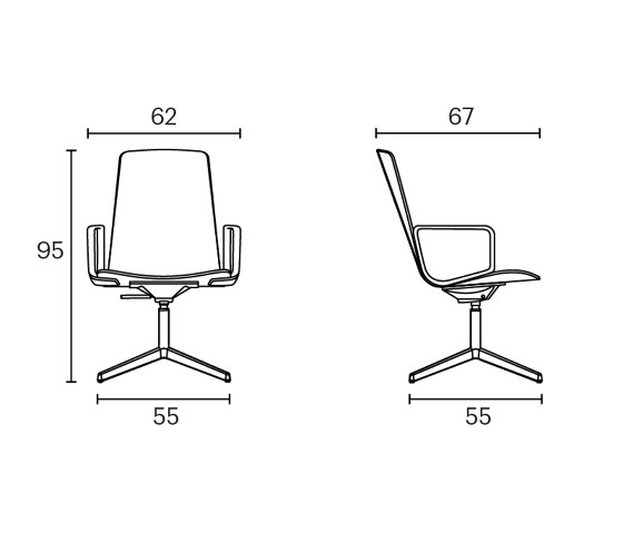 Lottus Conference by ENEA | Office chairs