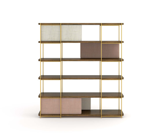 Julia Modular bookcase of oak wood by Momocca | Shelving
