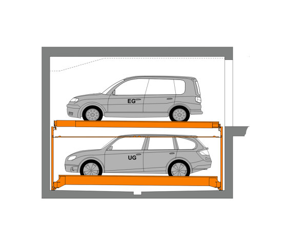 TrendVario 6100 by KLAUS Multiparking | Semi automatic parking systems