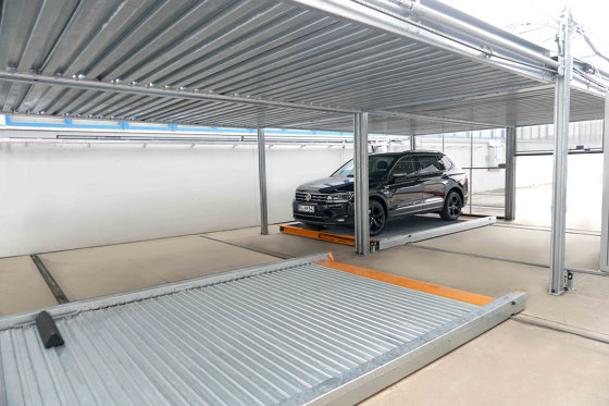 TrendVario 6100+ by KLAUS Multiparking | Semi automatic parking systems