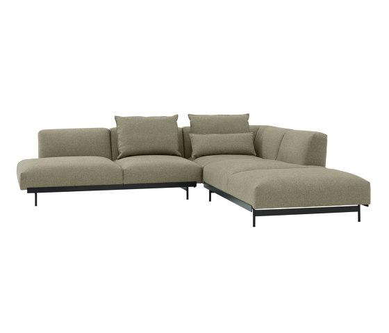 In Situ Modular Sofa    Corner Configuration 4 by Muuto   Sofas
