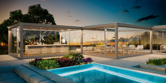 Glass Series by Pratic | Pergolas