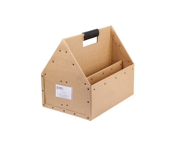 Handle leather to Toolbox, Natural by BIARO | Storage boxes